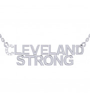 CLEVELAND STRONG DIAMOND PENDANT