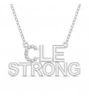 CLE STRONG DIAMOND PENDANT