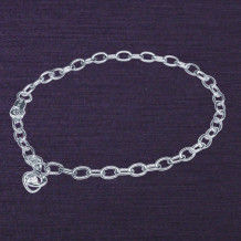 Denise Anne Sterling Silver Time & Eternity Diamond Bracelet