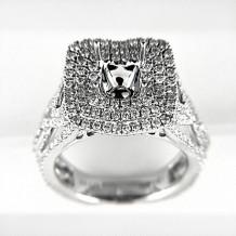 Venetti Designs 14k White Gold 1.81ct Diamond Engagement Ring