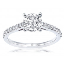 Imagine Bridal 14K White Gold Diamond Engagement Ring