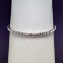 Denise Anne 14k White Gold Diamond Tennis Bracelet
