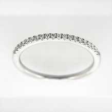 Venetti Designs 14k White Gold 0.17ct Diamond Wedding Band