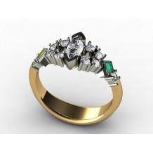 Custom Design Marquise Diamond Fashion Ring