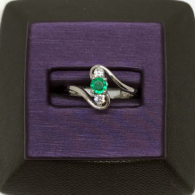 Denise Anne 14k White Gold Gemstone Ring