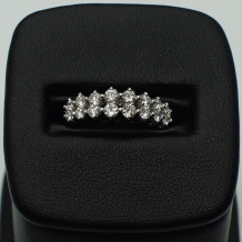 Denise Anne 14k White Gold Diamond Ring