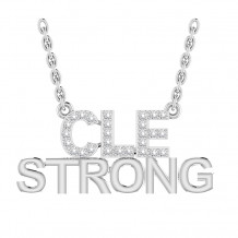 CLE STRONG DIAMOND PENDANT (PRE-ORDER)