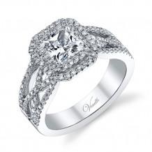 Venetti Designs 14k White Gold 0.81ct Diamond Engagement Ring