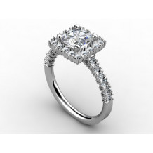 "Custom Design ""Denise Anne"" Diamond Engagement Ring"