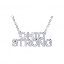 Ohio Strong Diamond Pendant (PRE-ORDER)